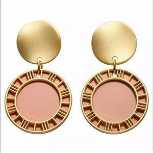 ‼️NEW‼️Soft Gold & Blush Earrings